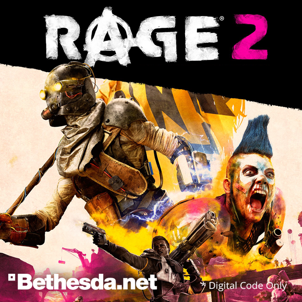 RAGE 2 Bethesda Code (English/Chinese) 狂怒煉獄 2