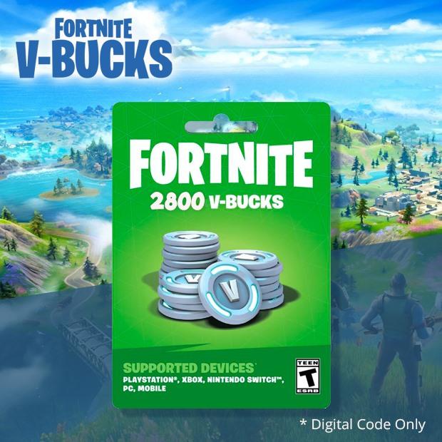 Fortnite V-Bucks 2800 Coins (Global)