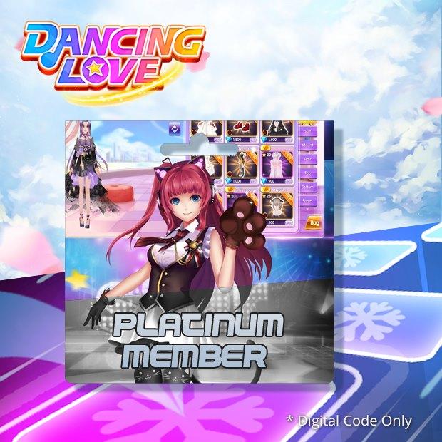 Dancing Love Platinum Member (SEA)