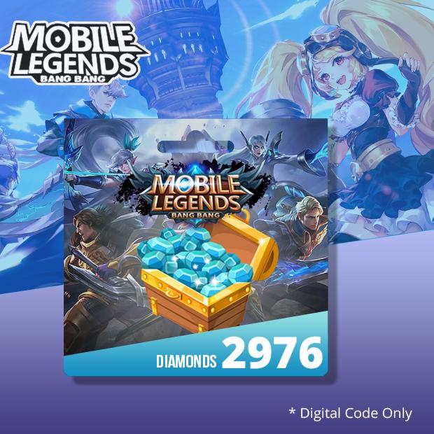 Mobile Legends 2976 Diamonds (SEA)