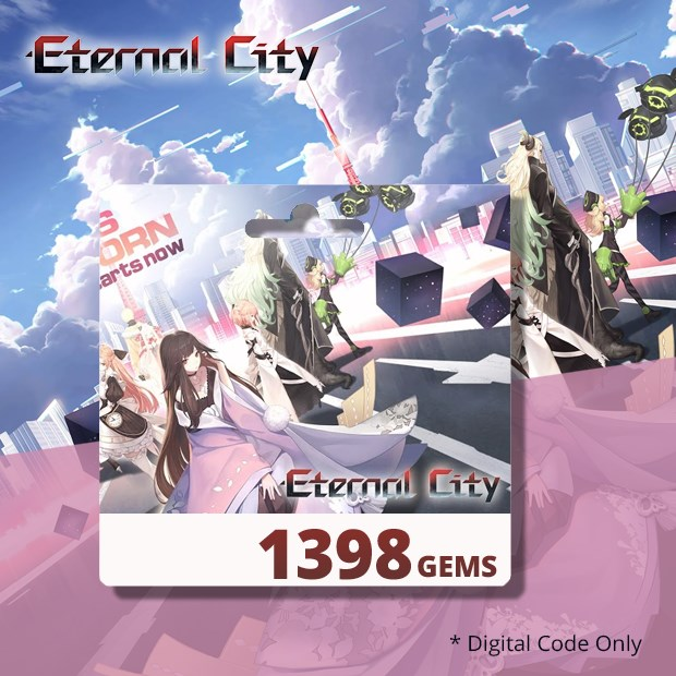Eternal City 1398 Gems (SEA)