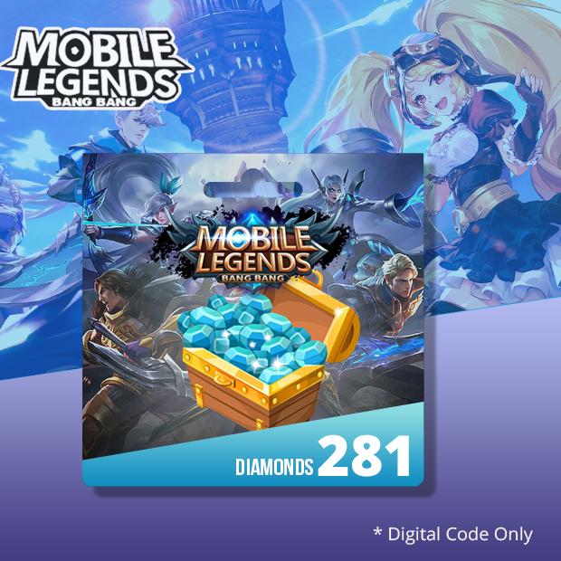 Mobile Legends 281 Diamonds (SEA)