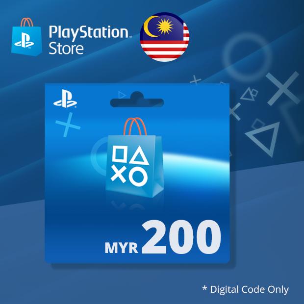 PSN Wallet MYR 200 (Malaysia)