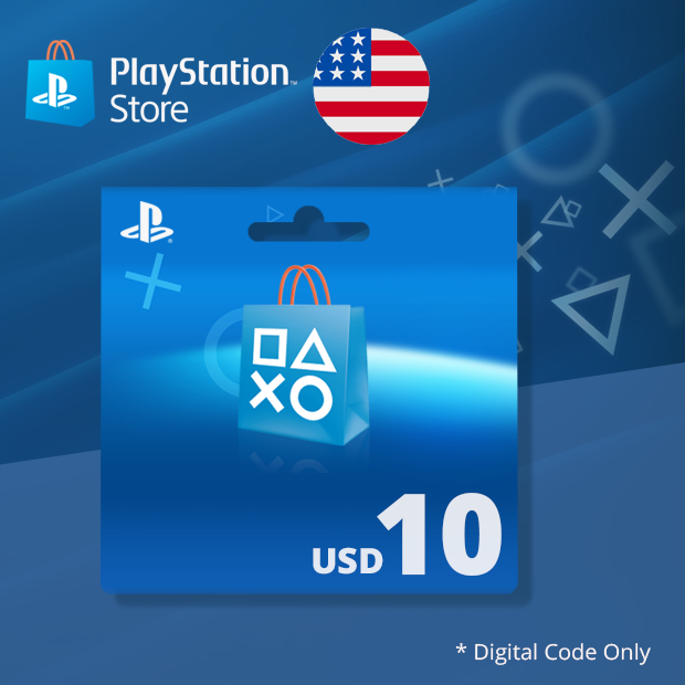 PSN Wallet USD 10 (US)