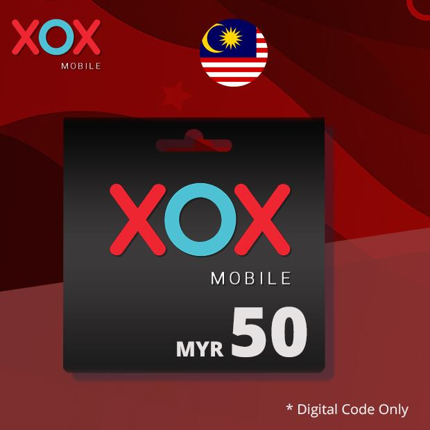 XOX Mobile Reload RM50 (Malaysia)