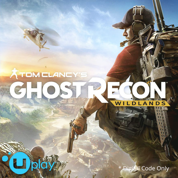 Tom Clancy's Ghost Recon Wildlands Uplay Code (English/Chinese) 火線獵殺 野境