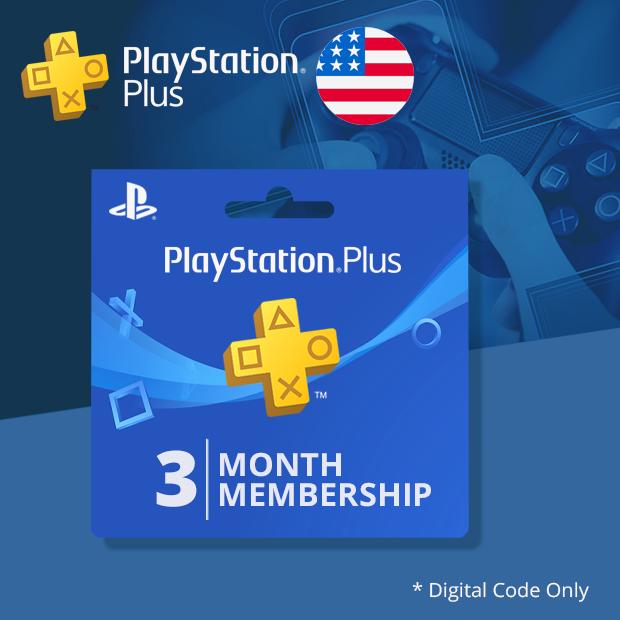 Playstation Plus 3-Months (US)
