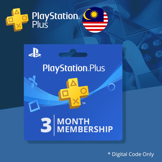 Playstation Plus 3-Months (Malaysia)