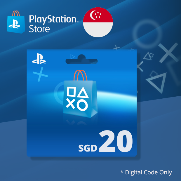 PSN Wallet SGD 20 (Singapore)