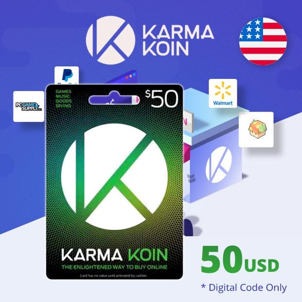 Karma Koin USD 50 (US)
