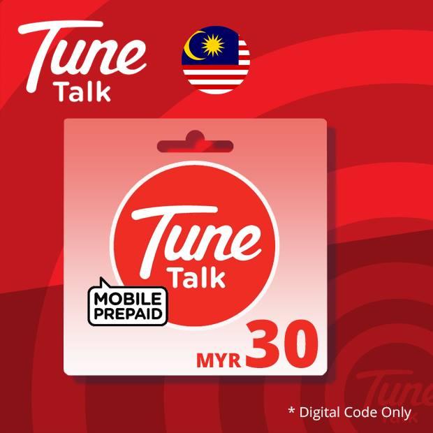 Tune Talk Reload RM30 (Malaysia)